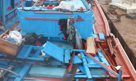 Ngư phủ đâm chết đồng nghiệp trên tàu đánh cá 1
