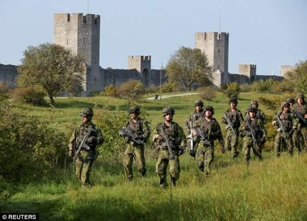 Thụy Điển đang chuẩn bị chiến tranh với Nga? 2