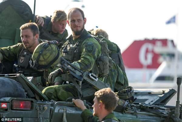 Thụy Điển đang chuẩn bị chiến tranh với Nga? 1