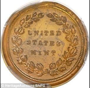 Đồng tiền xu độc nhất bán với giá gần 1,6 tỷ đồng ở Mỹ 2