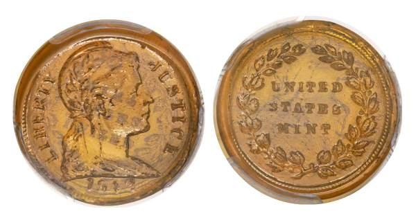 Đồng tiền xu độc nhất bán với giá gần 1,6 tỷ đồng ở Mỹ 3