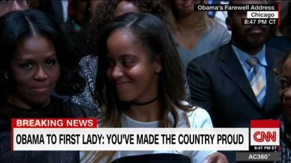Vì sao con gái út ông Obama vắng mặt khi bố phát biểu? 2
