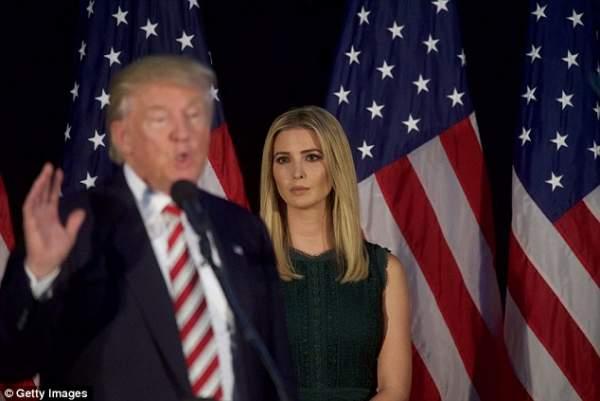 """Con gái Trump bỏ việc để làm thay """"vai"""" đệ nhất phu nhân? 2"""