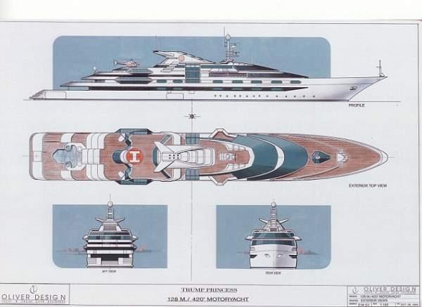 Trump từng đặt du thuyền đắt nhất thế giới nhưng hết tiền 2