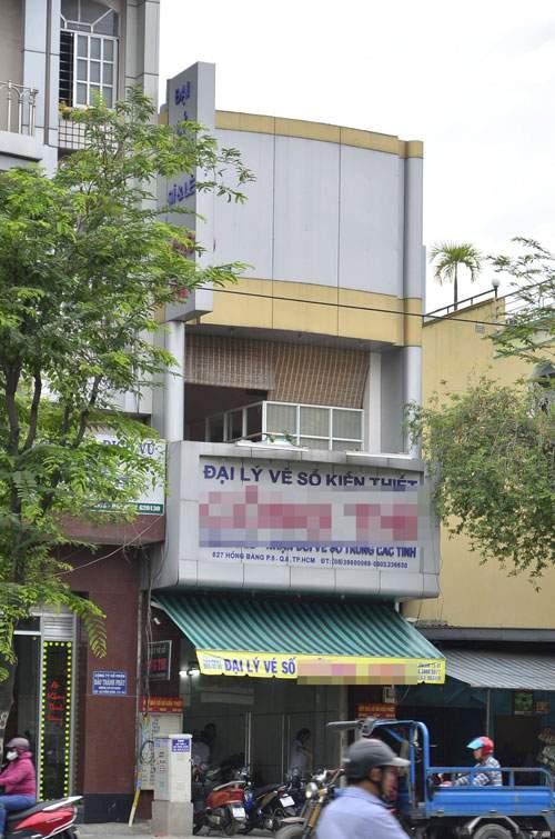 Táo tợn cướp đại lý vé số giữa ban ngày ở Sài Gòn 1