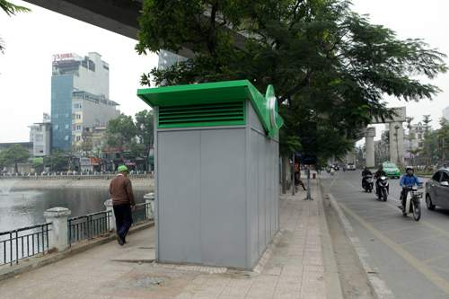 Tè bậy ngay gần nhà vệ sinh siêu sạch giữa Thủ đô 15