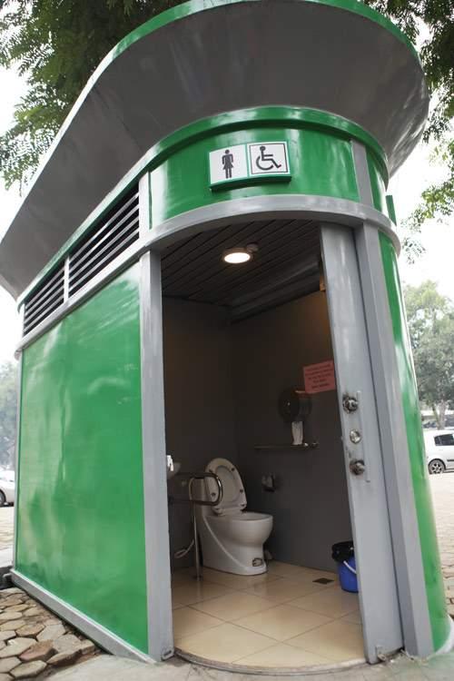 Tè bậy ngay gần nhà vệ sinh siêu sạch giữa Thủ đô 5