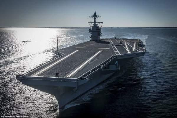 """Mỹ thử nghiệm tàu sân bay """"tàng hình"""" đắt nhất lịch sử 1"""