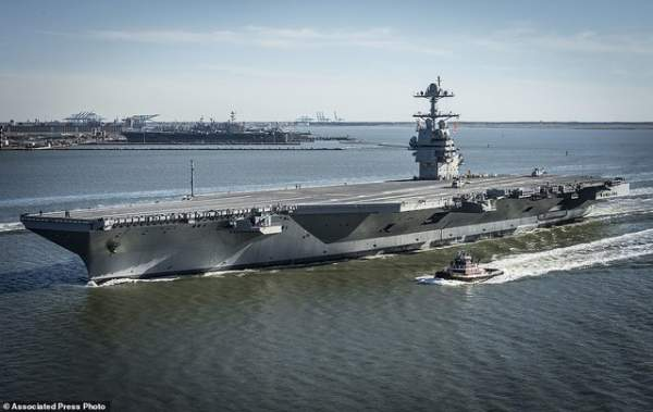 """Mỹ thử nghiệm tàu sân bay """"tàng hình"""" đắt nhất lịch sử 3"""