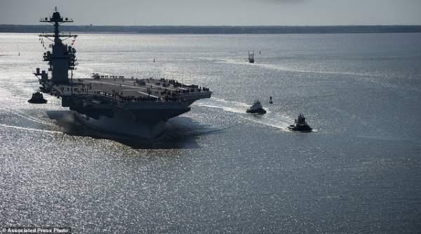 """Mỹ thử nghiệm tàu sân bay """"tàng hình"""" đắt nhất lịch sử 2"""