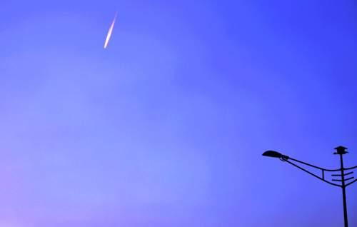 Xuất hiện vệt sáng bí ẩn trên bầu trời Sài Gòn 4