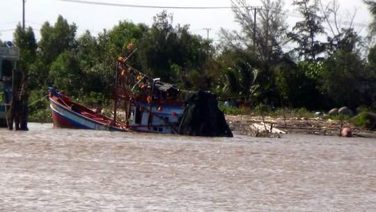 Tìm thấy thi thể nạn nhân vụ chìm tàu ở Bạc Liêu 1
