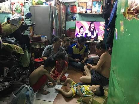 """Khu """"siêu ổ chuột"""" giữa quận giàu nhất Sài Gòn 1"""