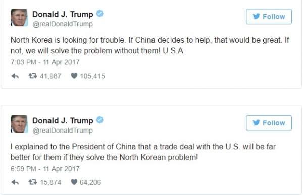 """Trump """"đổ dầu vào lửa"""" trước lời đe hạt nhân Triều Tiên 3"""