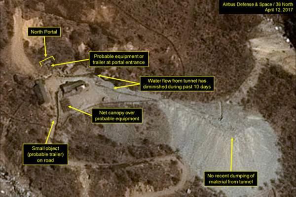 Ảnh vệ tinh khẳng định Triều Tiên sẽ thử bom hạt nhân 1