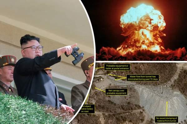 Ảnh vệ tinh khẳng định Triều Tiên sẽ thử bom hạt nhân 2