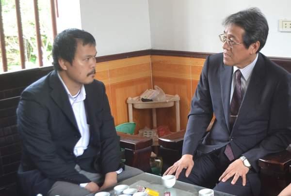 Đại sứ Nhật Bản đến gia đình bé gái người Việt bị sát hại nói lời xin lỗi 1