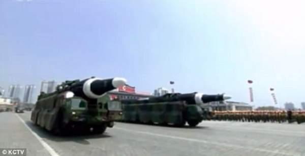 Triều Tiên khoe tên lửa đạn đạo tầm bắn bao phủ toàn Mỹ 2