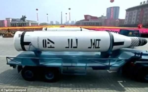 Triều Tiên khoe tên lửa đạn đạo tầm bắn bao phủ toàn Mỹ 3