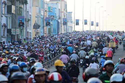 """5.400 tỷ đồng mở đường """"giải cứu"""" cửa ngõ Nam Sài Gòn 1"""