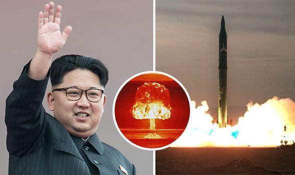 Ngày 15.4, Triều Tiên từng khiến Mỹ định dội bom hạt nhân 1