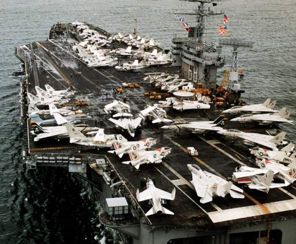 3 tàu sân bay hạt nhân Mỹ rầm rộ áp sát Triều Tiên 1
