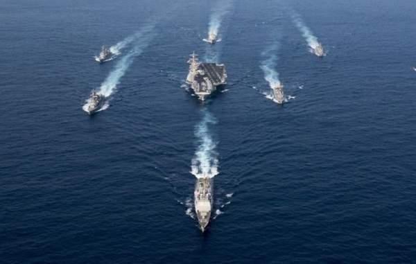 3 tàu sân bay hạt nhân Mỹ rầm rộ áp sát Triều Tiên 2