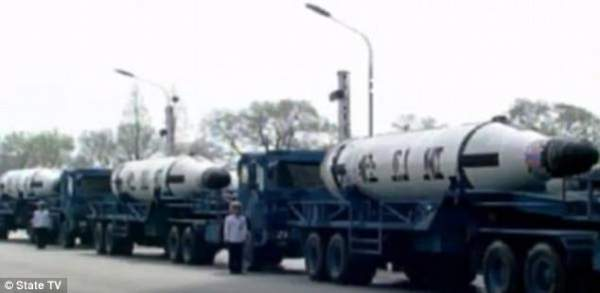 Báo Trung Quốc nhầm lẫn về việc Triều Tiên thử tên lửa 2