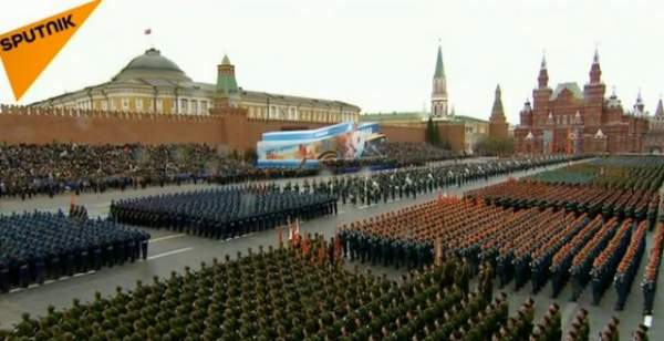 Xem dàn vũ khí tối tân Nga khoe trong lễ duyệt binh 1
