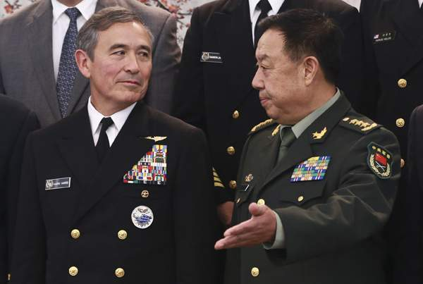 """TQ lên tiếng về tin """"ép"""" Mỹ cách chức tư lệnh hải quân 2"""