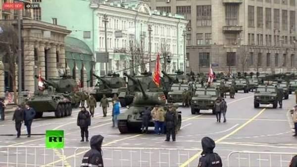 Xem dàn vũ khí tối tân Nga khoe trong lễ duyệt binh 4
