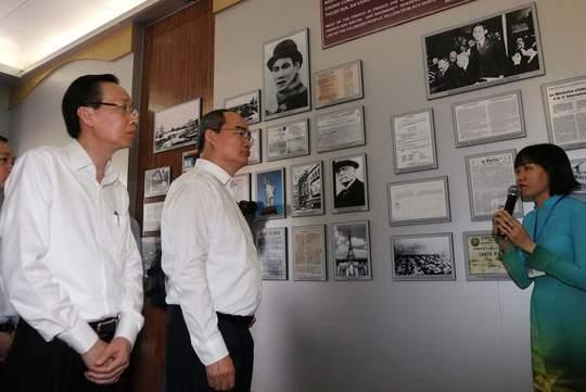 Chuyến thăm đầu tiên của tân Bí thư Thành ủy TP HCM 2