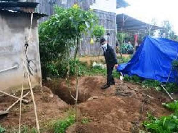 Vụ giết vợ, giấu xác hơn 4 năm: Tìm thấy xương người dưới hầm cầu 3