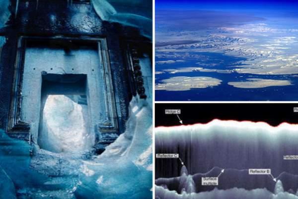 Lộ thành phố cổ huyền thoại dưới 800m băng Nam Cực? 1