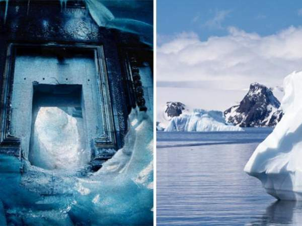 Lộ thành phố cổ huyền thoại dưới 800m băng Nam Cực? 4