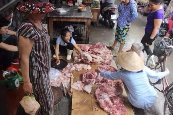 Không dẹp phản thịt của chị bán thịt heo bị đổ luyn 1