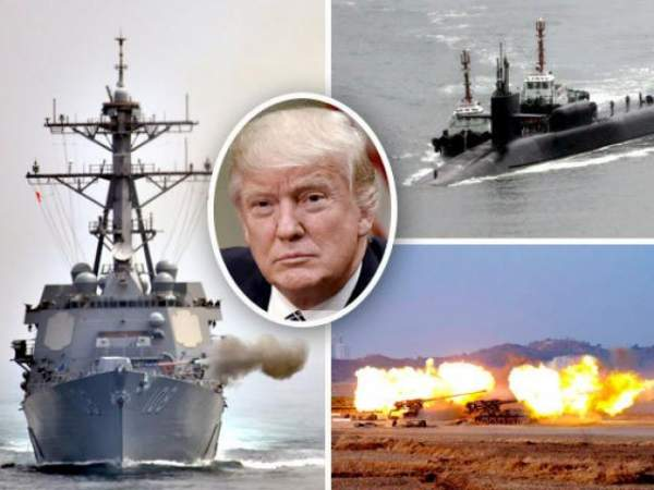 Đội tàu ngầm tấn công hạt nhân Mỹ vây quanh Triều Tiên 3