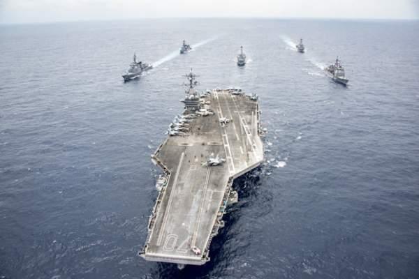 Đội tàu ngầm tấn công hạt nhân Mỹ vây quanh Triều Tiên 2