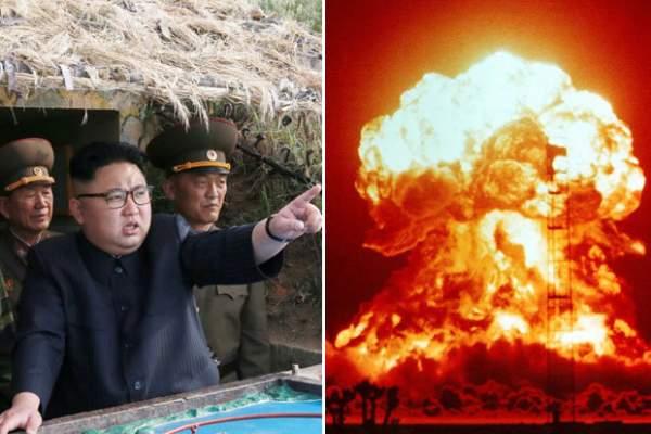 """Triều Tiên dọa tấn công hạt nhân Mỹ """"nhanh như chớp mắt"""" 1"""