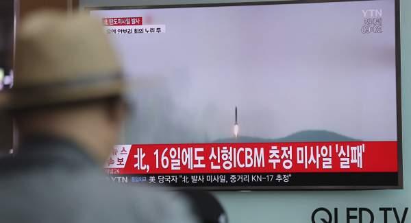 Tên lửa Triều Tiên vừa thử có đường bay khác thường 1