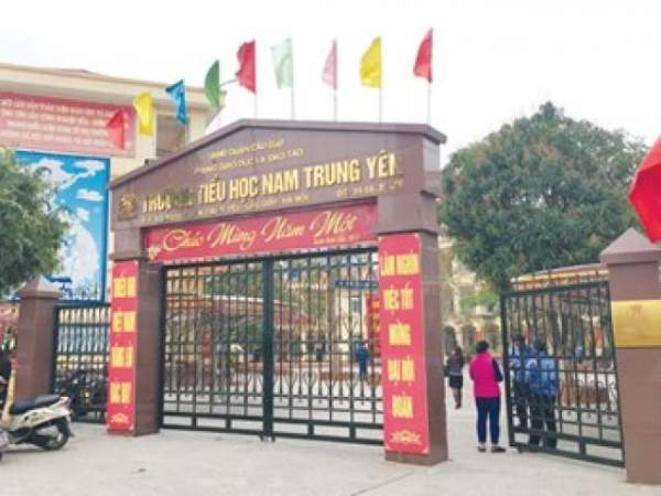Tin mới vụ HS trường Nam Trung Yên gãy chân, hiệu trưởng mất chức 2