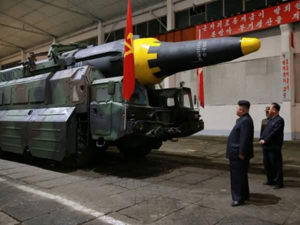 Thấy gì từ ảnh chụp tên lửa mới thử của Triều Tiên? 1