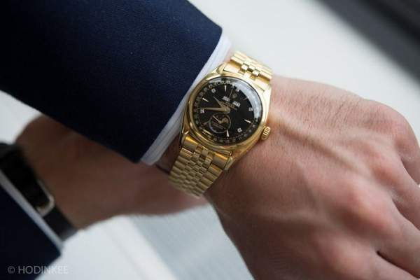 Cận cảnh đồng hồ huyền thoại 5 triệu USD của vua Bảo Đại 1