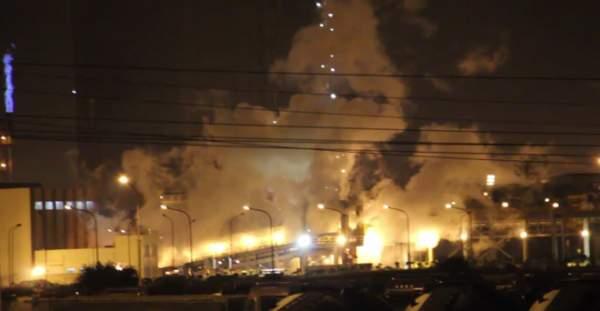 Nổ lớn ở KCN Formosa, nhiều công nhân hoảng sợ 1
