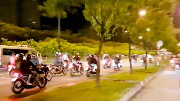 """200 quái xế đua xe """"liên quận"""" ở TP HCM 1"""