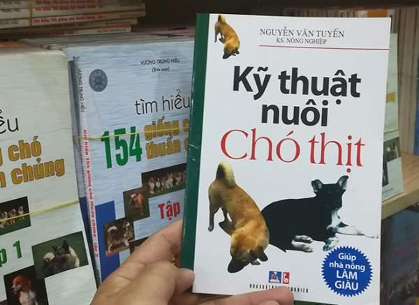 """Cuốn """"Kỹ thuật nuôi chó thịt"""" gây tranh cãi có nội dung ra sao? 1"""