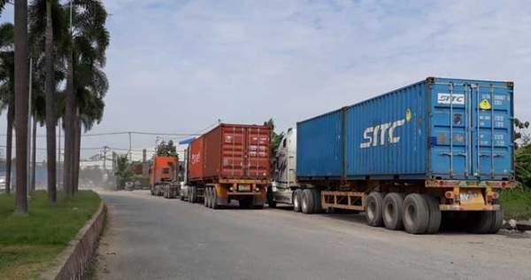 Xe container quần thảo ngày đêm, dân cầu cứu Thành ủy 1