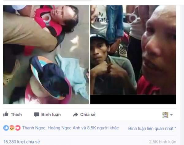 """Vụ dí dao vào cổ người phụ nữ: """"Kẻ bắt cóc"""" trẻ em mất tích cách đây 2 năm 1"""