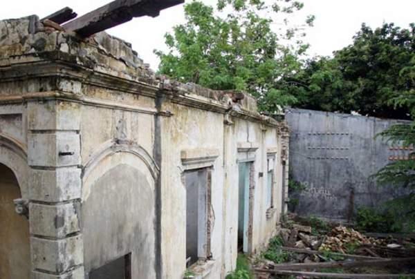 Biệt thự 100 tuổi hoang phế thành nơi trú ngụ của mèo hoang 1