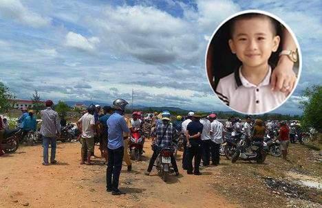 Thi thể bé trai mất tích ở Quảng Bình được phát hiện như thế nào? 1